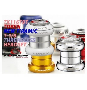 TOKEN TK116TBT - New Tiramic Alloy 1-1/8
