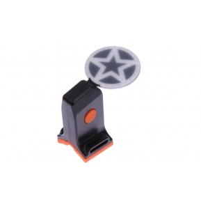 별 모양 USB충전식후미등